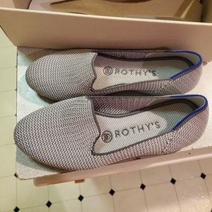 Rothys grey cloud triple stitch, limited edition